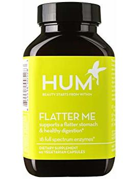 Hum Nutrition   Flatter Me   Digestive Enzymes, 60 Capsules by Hum Nutrition