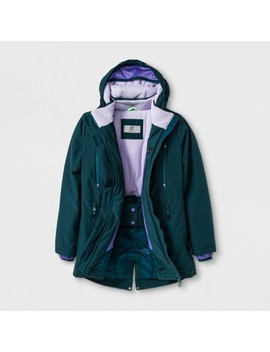 Girls' Parka Jacket   C9 Champion® Green by C9 Champion®