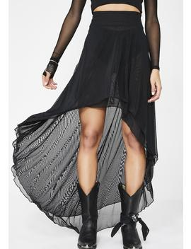 Artemis Layered Mesh Skirt by Necessary Evil
