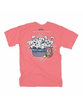 Lily Grace Southern Cotton   Salmon | Women's Topside Cotton T Shirt by Lily Grace