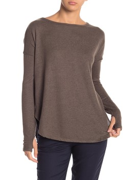 Dolman Sleeved Pullover Sweater by Sweet Romeo