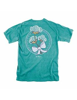 Lily Grace Cotton   Seafoam Women's Topside Cotton T Shirts | Sizes S, M, L, Xl, Xxl | Southern Inspired by Lily Grace