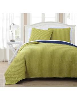Royal Tradition Project Runway Oversized Reversible Quilted Coverlet Set Royal Tradition Project Runway Oversized Reversible Quilted Coverlet Set by Sears