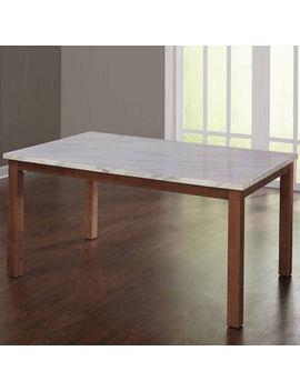 Edina Wood Top Dining Table by Asstd National Brand