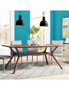 Langley Street Cassius Trestle Dining Table & Reviews by Langley Street
