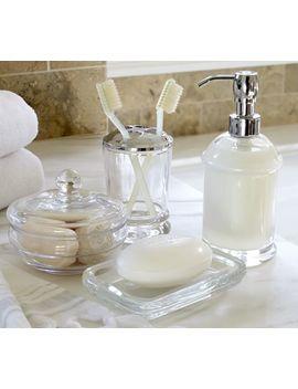Pb Classic Glass Bath Accessories by Pottery Barn