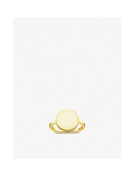Love Bridge 18ct Yellow Gold Plated Ring by Thomas Sabo