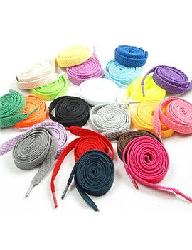 Oulii Flat Shoelaces Sports Shoelaces 12 Pairs (Assorted Colors) by Oulii