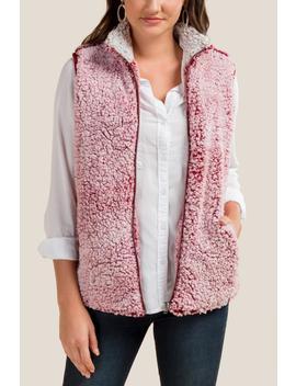 Tara Wubby Vest by Francesca's
