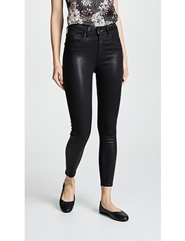 Margot Coated Skinny Jeans by L'agence