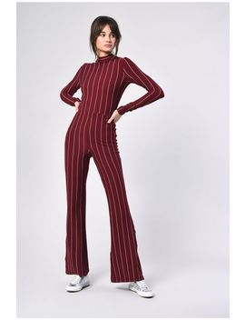 **Striped Jumpsuit By Glamorous by Topshop