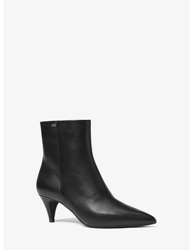 Blaine Flex Leather Ankle Boot by Michael Michael Kors