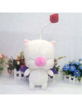 Final Fantasy 14 13 Moogle Plush Toy Action Figure Mascot Mogli Cosplay Plush Doll 2 Style Pillow Free Shipping by Mollygan