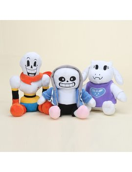 3styles  Undertale Plush Papyrus Undyne Alphys Mtt Sans Flower Miss Spider Toys Animation Plush Dolls For Kids Gift  by League Of Loveliness