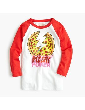 "Kids' Crewcuts X Nickelodeon™ ""Pizza Power"" T Shirt by J.Crew"