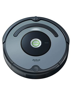 I Robot Roomba 640 Robot Vacuum Cleaner, Self Charging, Good For Pet Hair, Carpets, & Hard Floor Surfaces, Grey by I Robot