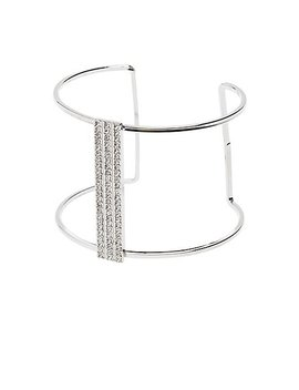 Crystal Cuff Bracelet by Charlotte Russe