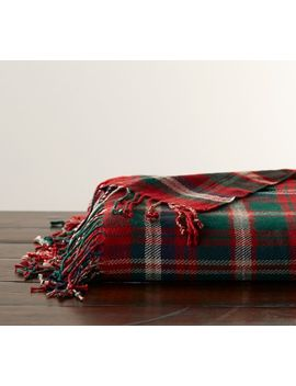 Lynbrook Plaid Throw by Pottery Barn