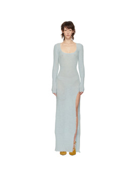 Blue 'la Robe Dao' Dress by Jacquemus