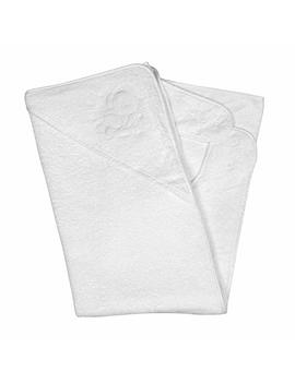Clevamama Splash And Wrap Baby Bath Towel (Hood, White) by Clevamama