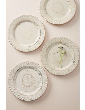 Celine Dinner Plates, Set Of 4 by Anthropologie