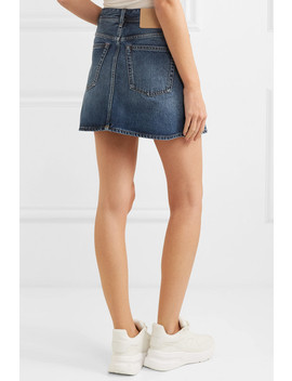 Mini Denim Skirt by Acne Studios