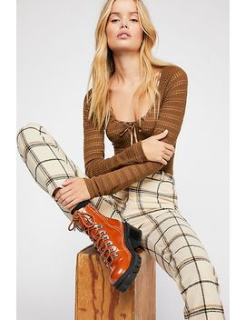 Tailored Check Pants by Free People