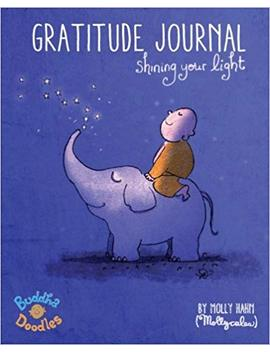 Buddha Doodles Gratitude Journal: Shining Your Light by Amazon
