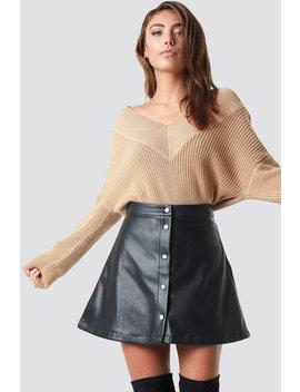 V Neck Knitted Sweater by Pamela X Na Kd