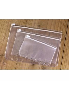 A5/A6/A7 Size Plastic Zip Lock Envelope Zipper Insert Refill Planners Organiser by Unbranded/Generic