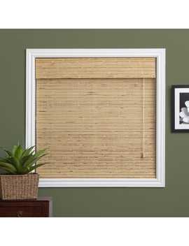 Arlo Blinds Petite Rustique Bamboo Roman Shade With 54 Inch Height by Arlo Blinds