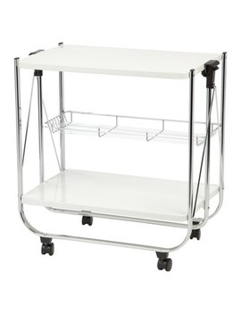 Iris Foldable Serving Cart by Iris