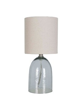Recycled Glass Table Lamp Natural (Includes Energy Efficient Bulb)   Threshold™ by Threshold™