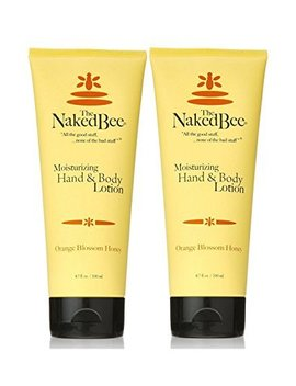 Naked Bee Orange Blossom Hand And Body Lotion,6.7oz   2 Pack by The Naked Bee