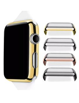 Apple Watch Case Series 1/2/3 38/42mm + Free Screen Protector Cover   4 Colors Gold Silver Rose Gold & Black   Protect! by Etsy