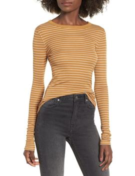 Ribbed Long Sleeve Tee by Bp.