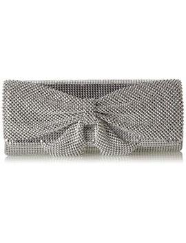 Jessica Mc Clintock Womens Hailey Bow Clutch by Jessica Mc Clintock