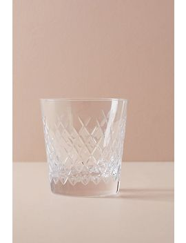 Soho Home Barwell Cut Crystal Rocks Glass by Soho Home