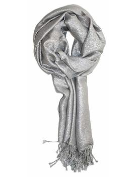 Ted And Jack   Dreams Of Stardom Sparkling Metallic Pashmina Scarf by Ted And Jack