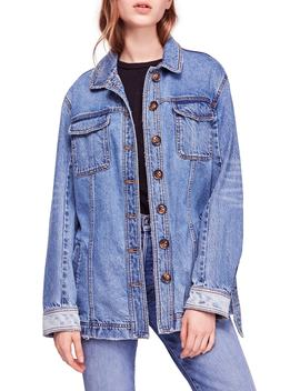 Heritage Belted Denim Jacket by Free People