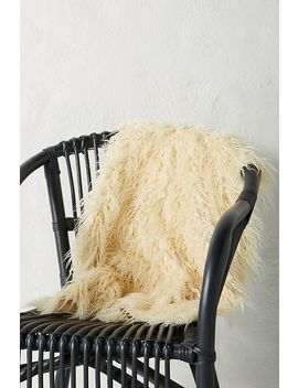 Faux Sheepskin Rug by Anthropologie