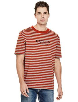 Carl Striped Tee by Guess