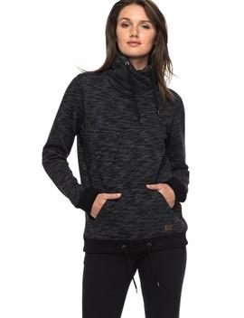 Sandy Dreams Wrap Collar Sweatshirt by Roxy