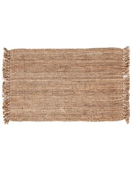 Jute Squares Rug 20 X 34 In. by At Home