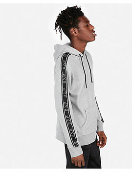 Taped Sleeve Exp Graphic Hoodie by Express