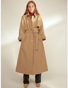 Nora Loose Trench Coat by Cloclothes