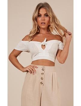 Pure Release Top In White by Showpo Fashion