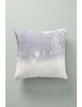 Kevin O'brien Ombre Velvet Pillow by Anthropologie
