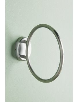 Brushed Geo Towel Ring by Anthropologie