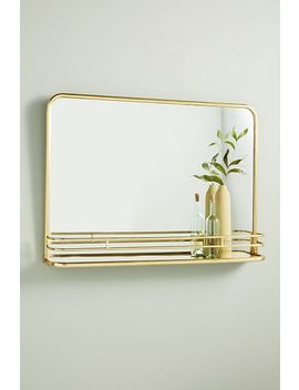 Georgie Shelved Mirror by Anthropologie